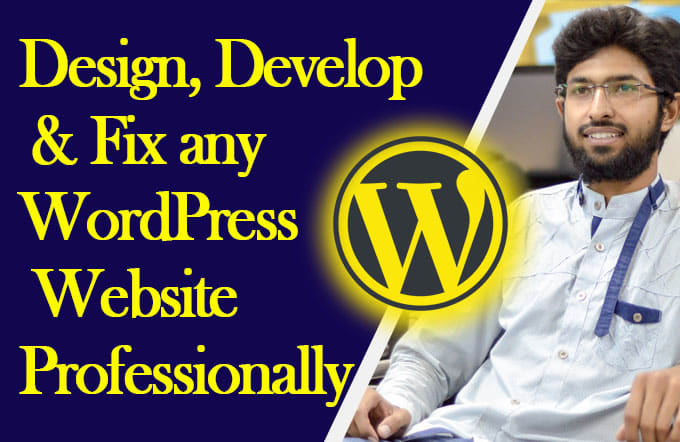 create customize and fix your wordpress website
